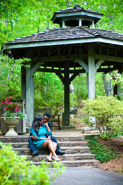 36. Aimee & Sam Engagement Session | Callaway Gardens | Atlanta Wedding Photographer | Fotos by Fola