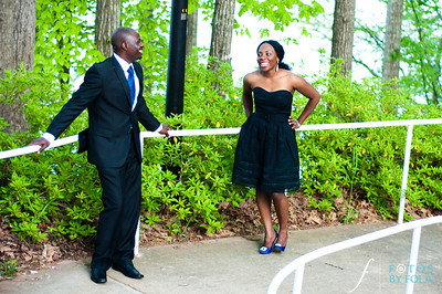 19. Titi & Remi Engagement Session | Stone Mountain Park | Fotos by Fola | Atlanta Wedding Photographer