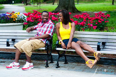 17. Raymond's Surprise Proposal | Piedmont Park Atlanta | Atlanta Wedding Photographer | Fotos by Fola