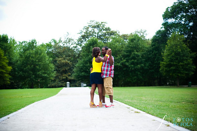 23. Raymond's Surprise Proposal | Piedmont Park Atlanta | Atlanta Wedding Photographer | Fotos by Fola