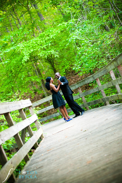 20. Titi & Remi Engagement Session | Stone Mountain Park | Fotos by Fola | Atlanta Wedding Photographer