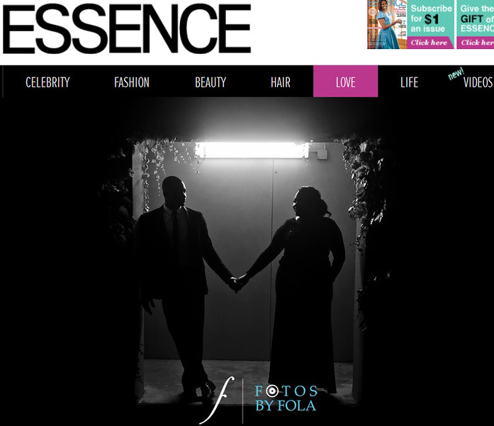 Chrystol + Jason Engagement Session featured on Essence Just engaged | Fotos by Fola | Atlanta Wedding Photographer
