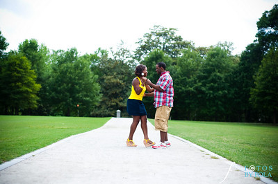 24. Raymond's Surprise Proposal | Piedmont Park Atlanta | Atlanta Wedding Photographer | Fotos by Fola