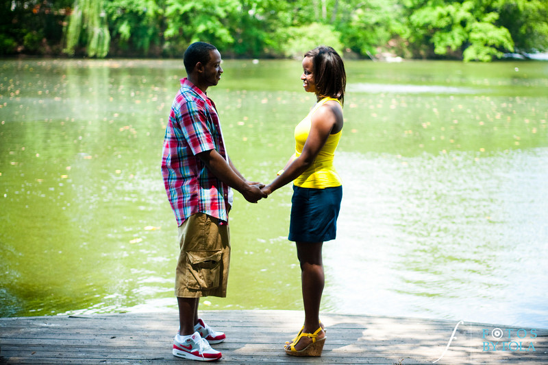 5. Raymond's Surprise Proposal | Piedmont Park Atlanta | Atlanta Wedding Photographer | Fotos by Fola