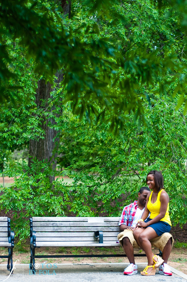 3. Raymond's Surprise Proposal | Piedmont Park Atlanta | Atlanta Wedding Photographer | Fotos by Fola