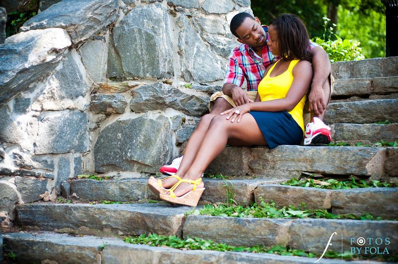 18. Raymond's Surprise Proposal | Piedmont Park Atlanta | Atlanta Wedding Photographer | Fotos by Fola