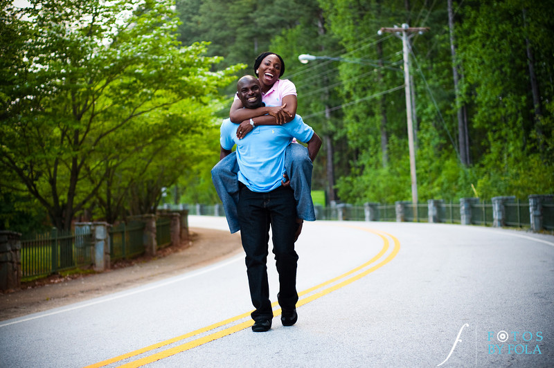 36. Titi & Remi Engagement Session | Stone Mountain Park | Fotos by Fola | Atlanta Wedding Photographer