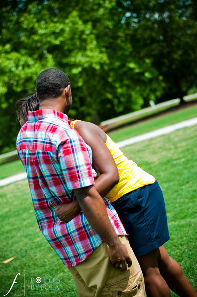 30. Raymond's Surprise Proposal | Piedmont Park Atlanta | Atlanta Wedding Photographer | Fotos by Fola