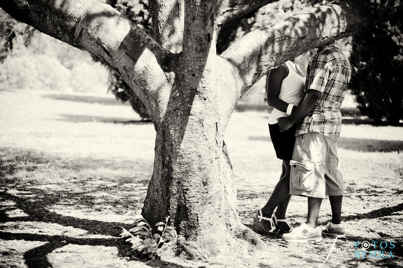 12. Raymond's Surprise Proposal | Piedmont Park Atlanta | Atlanta Wedding Photographer | Fotos by Fola