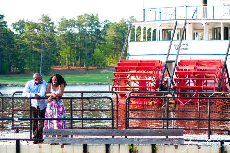 10. Titi & Remi Engagement Session | Stone Mountain Park | Fotos by Fola | Atlanta Wedding Photographer