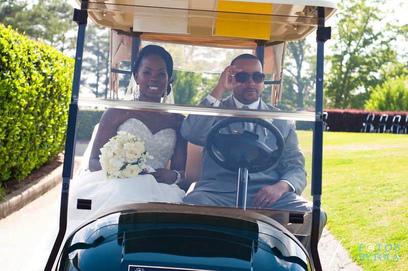 55. CherDon & Gregory Wedding | Berkely Hills Country Club Duluth | Atlanta Wedding Photographer | Fotos by Fola