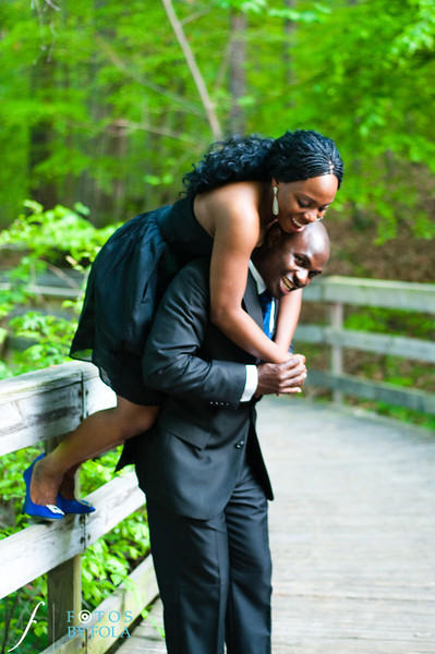 24. Titi & Remi Engagement Session | Stone Mountain Park | Fotos by Fola | Atlanta Wedding Photographer