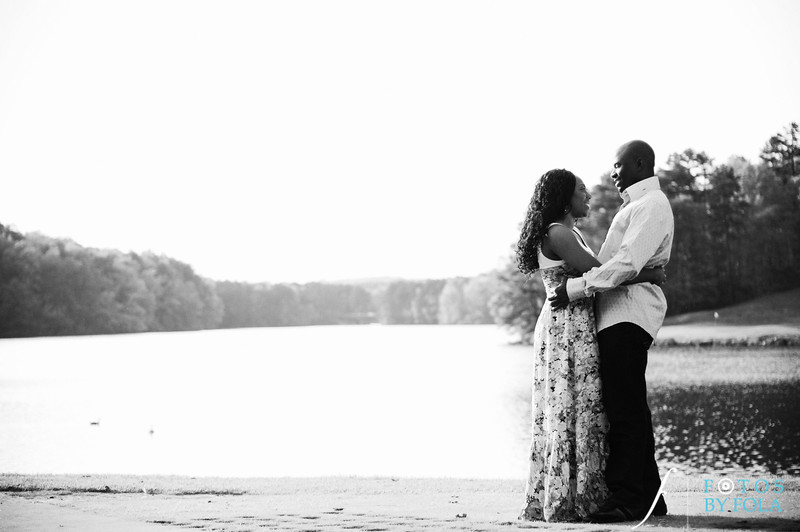 7. Titi & Remi Engagement Session | Stone Mountain Park | Fotos by Fola | Atlanta Wedding Photographer