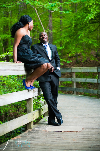 23. Titi & Remi Engagement Session | Stone Mountain Park | Fotos by Fola | Atlanta Wedding Photographer