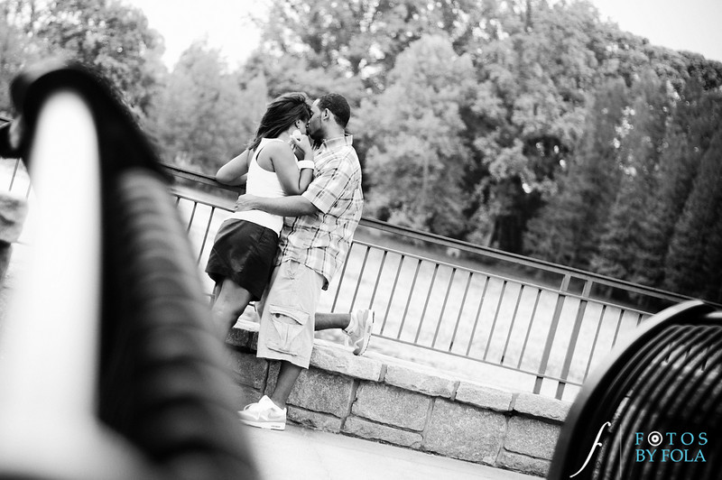 Raymond's Surprise Proposal | Piedmont Park Atlanta | Atlanta Wedding Photographer | Fotos by Fola