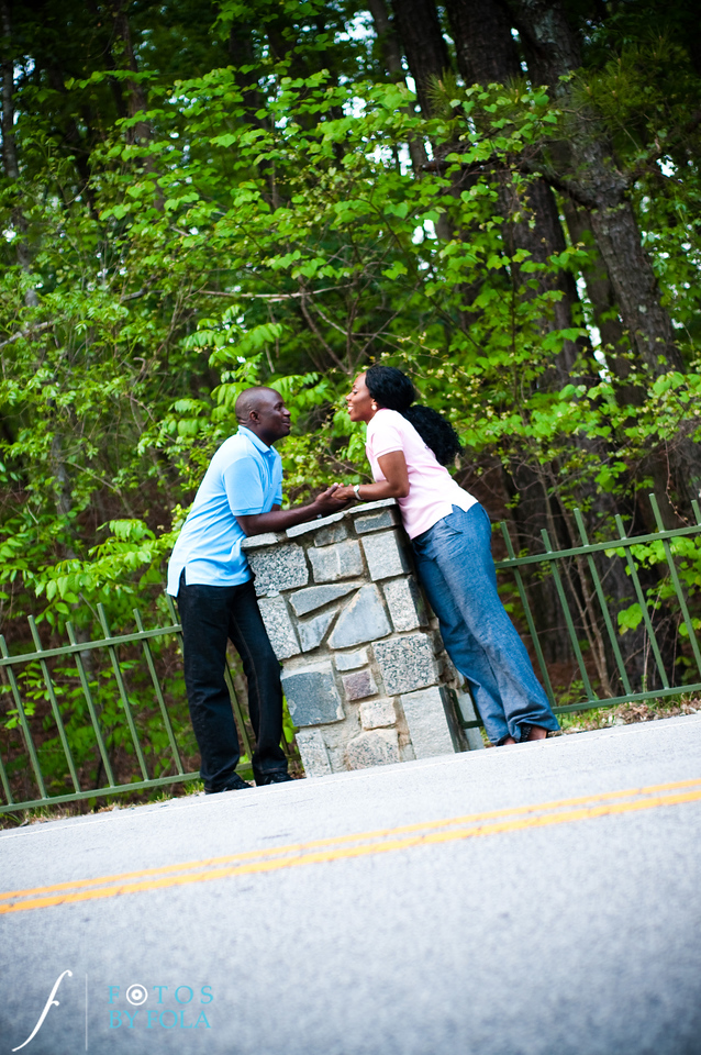 33. Titi & Remi Engagement Session | Stone Mountain Park | Fotos by Fola | Atlanta Wedding Photographer