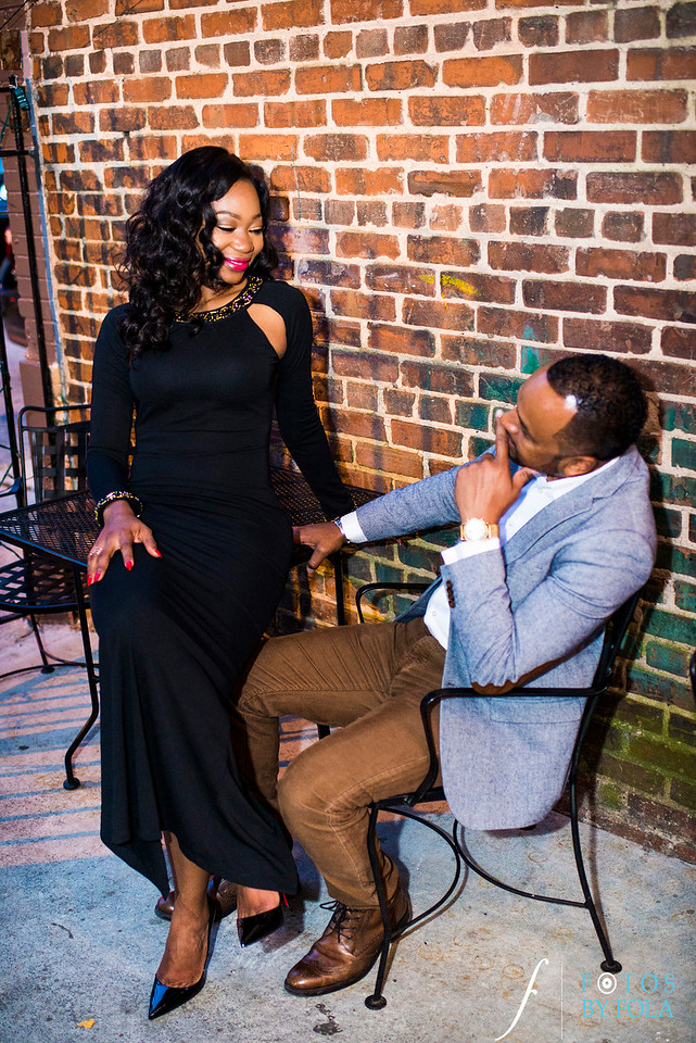 Adeola + John Engaged! | Atlanta Wedding Photographers | Carter Center | Virginia Highlands | Fotos by Fola
