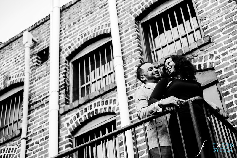 Adeola + John Engaged!   Atlanta Wedding Photographers   Carter Center   Virginia Highlands   Fotos by Fola