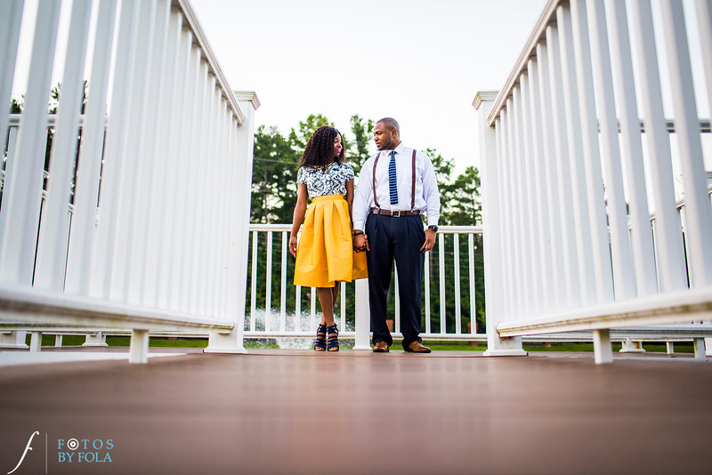Jennifer + Dami E-session @ The Yancy House | Atlanta Wedding Photographers | Fotos by Fola