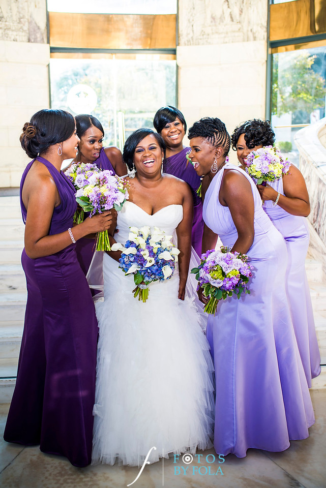 Latoya + Alan Wedding | Venetian Room | Atlanta Wedding Photographers | Fotos by Fola